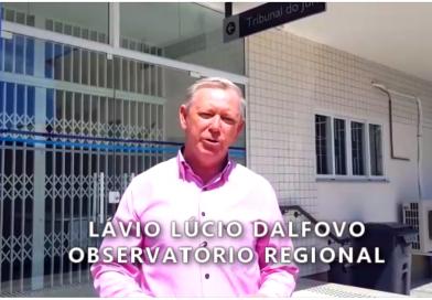 Defesa Civil em Balneário Piçarras. Observatório segue de olho!